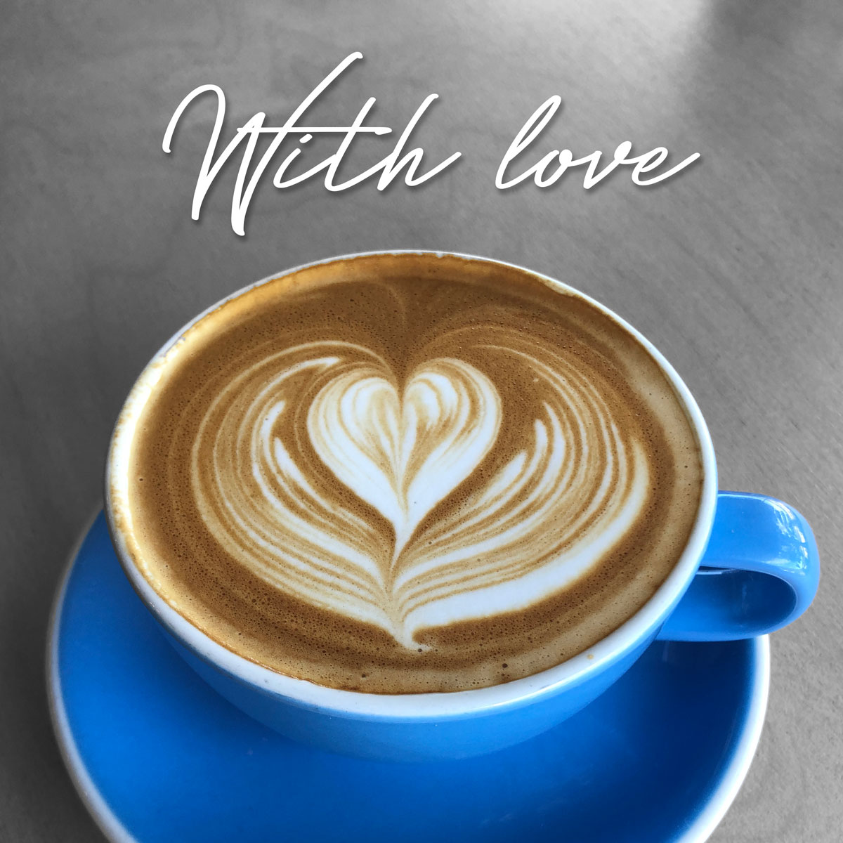 With Love from Blue Door Coffee